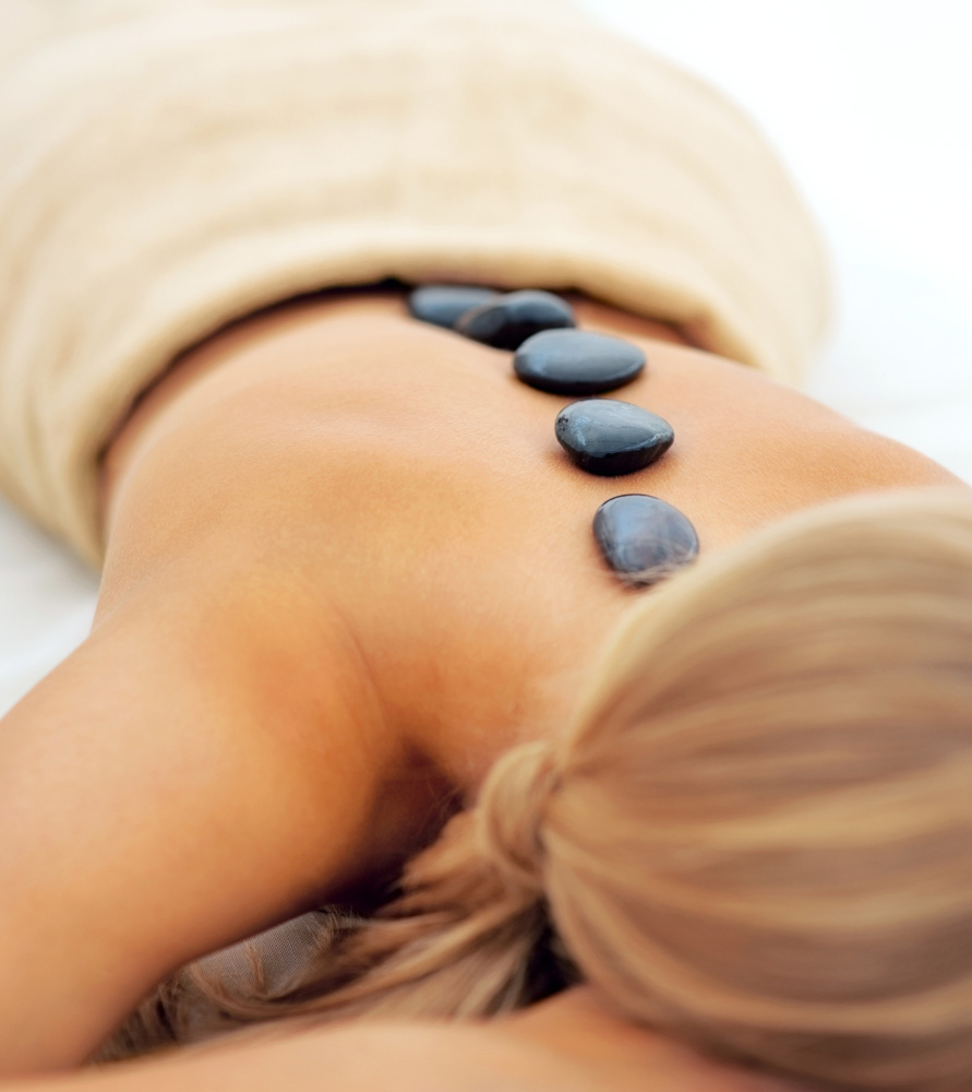 Hot stone massages, best beauty salon in bishop's stortford