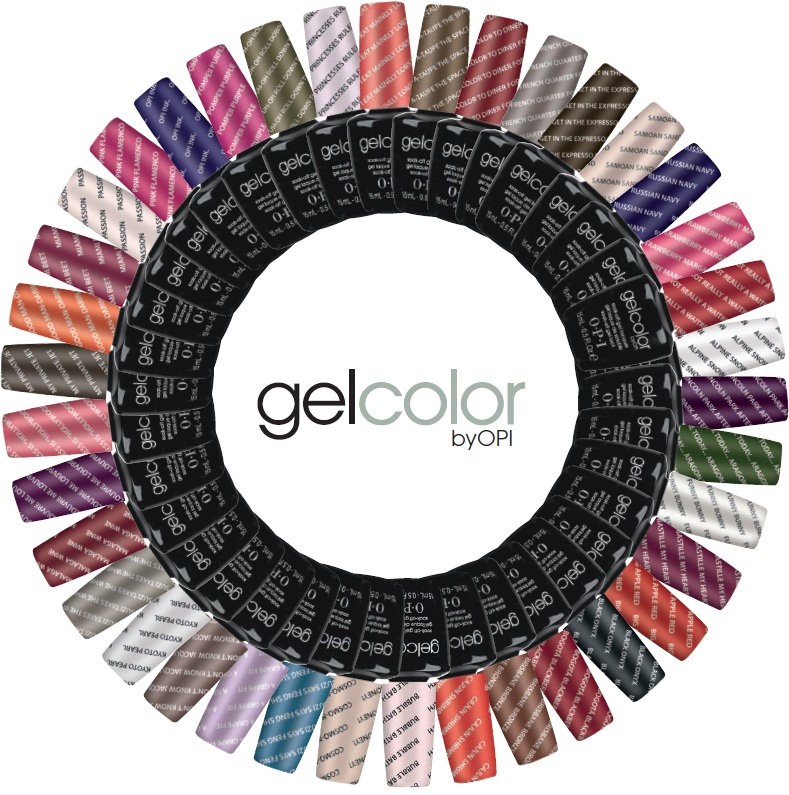 Now available  – O.P.I GelColor