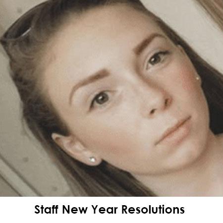 Staff New Year Resolutions