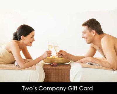 Dual Full Body Aromatherapy Massage Gift Card