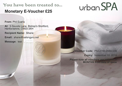 Monetary E-Voucher £25
