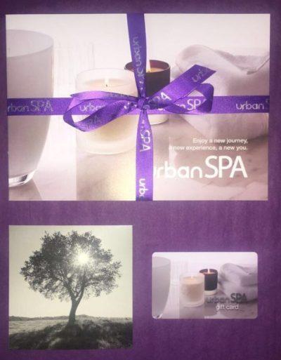 urban spa gift cards in bishop's Stortford