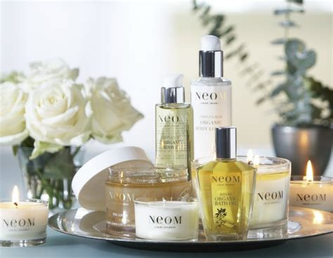 NEOM PRODUCTS, THE SKIN CLINIC AT URBAN SPA, BISHOP'S STORTFORD