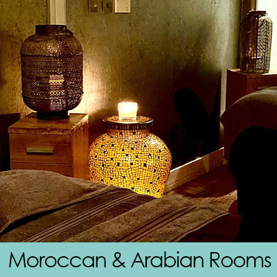 Moroccan & Arabian Rooms