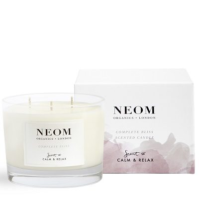 NEOM Complete Bliss Scented Candle (3 wick)