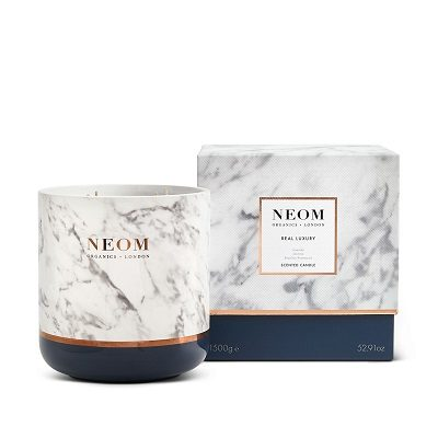 NEOM Real Luxury Ultimate Candle 4 Wick