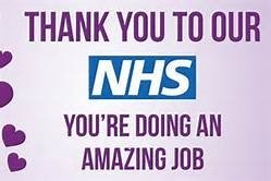 Thank You NHS & Health Care Staff