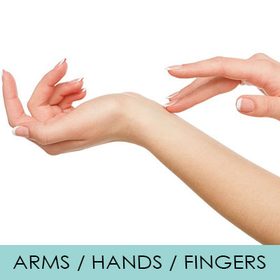 IPL Arms/Hands/Fingers Hair Removal