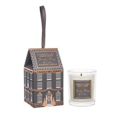 Stoneglow Seasonal Collection Juniper Berry & Cedar Votive House candle