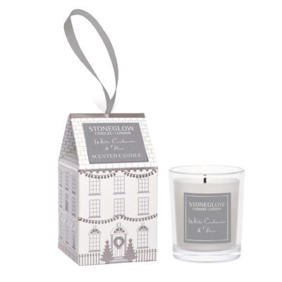 Stoneglow Seasonal Collection - White Cashmere & Pear - Votive House candle