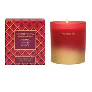 Stoneglow Seasonal Collection - Nutmeg Ginger & Spice – Candle