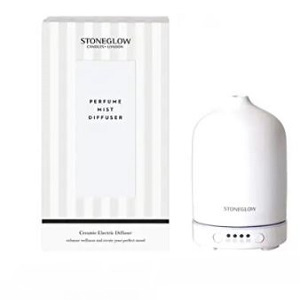 Stoneglow Ceramic Perfume Mist Diffuser - White