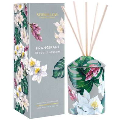 Stoneglow Urban Botanics - Frangipani| Neroli Blossom Reed Diffuser