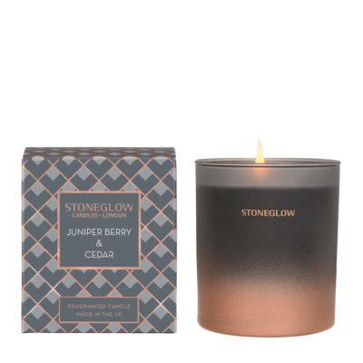 Stoneglow Seasonal Collection - Juniper Berry & Cedar – Candle