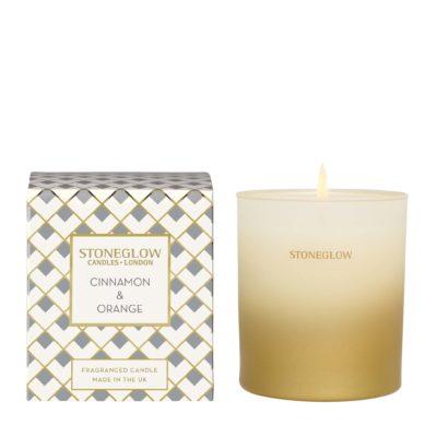 Stoneglow Seasonal Collection - Cinnamon & Orange – Candle