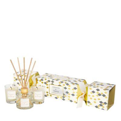 Stoneglow Seasonal Collection - Cinnamon & Orange - Cracker Gift Set