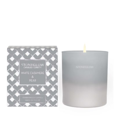 Stoneglow Seasonal Collection - White Cashmere & Pear – Candle