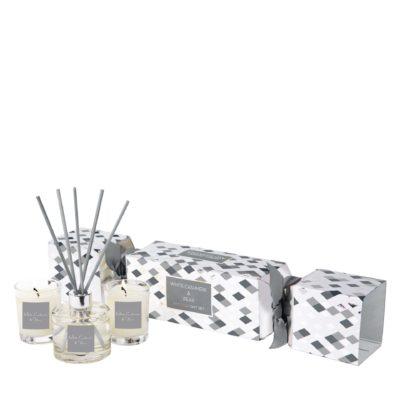 Stoneglow Seasonal Collection - White Cashmere & Pear - Cracker Gift Set