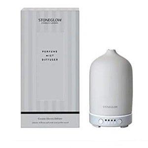Stoneglow Ceramic Perfume Mist Diffuser - Matt Grey