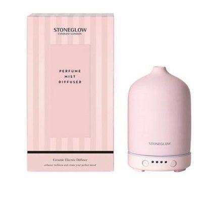 Stoneglow Ceramic Perfume Mist Diffuser - Pink