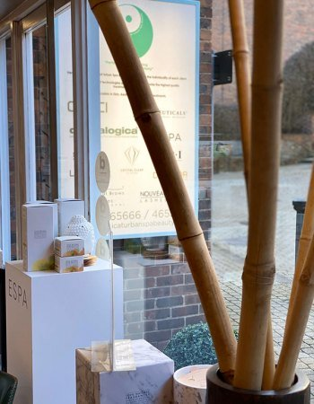Salon-window-display-skin-clinic-at-urban-spa-in-hertfordshire